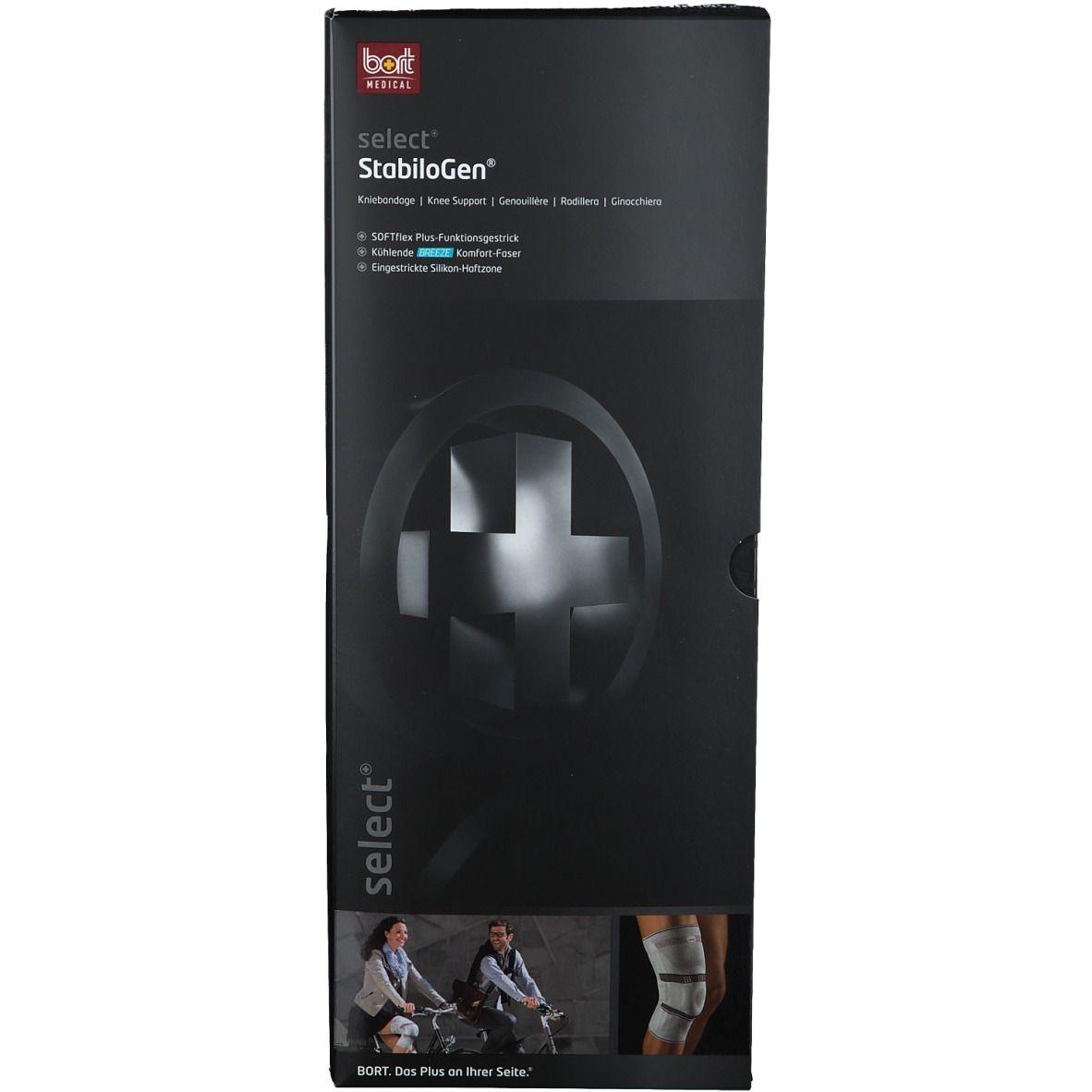 BORT select® StabiloGen® Silikonring Gr. S schwarz