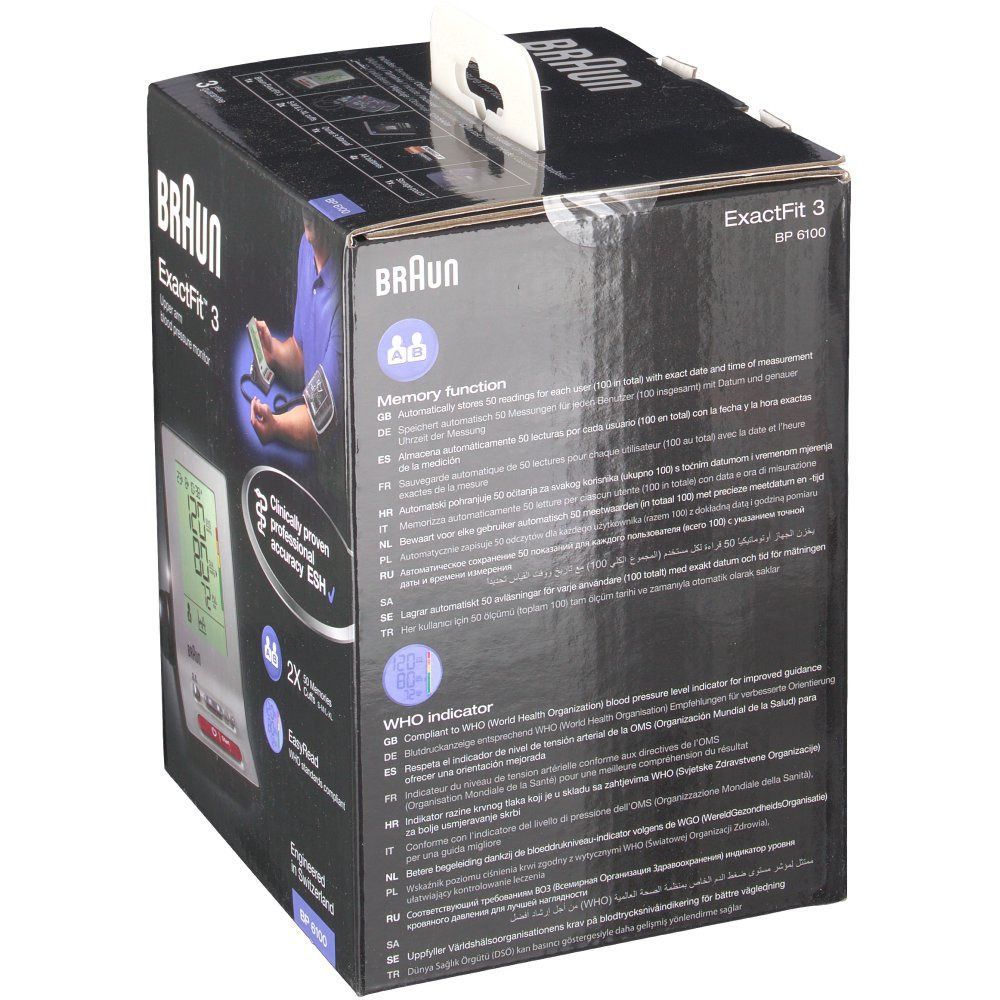 Braun ExactFit™ 3 Blutdruckmessgerät