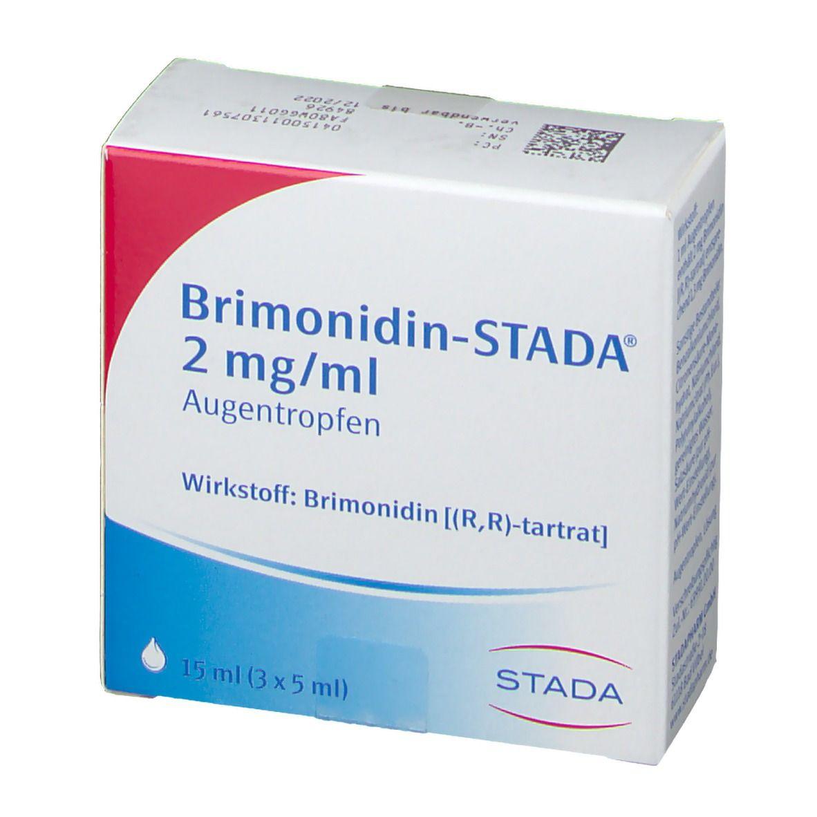 Brimonidin STADA® 2 mg/ml Augentropfen