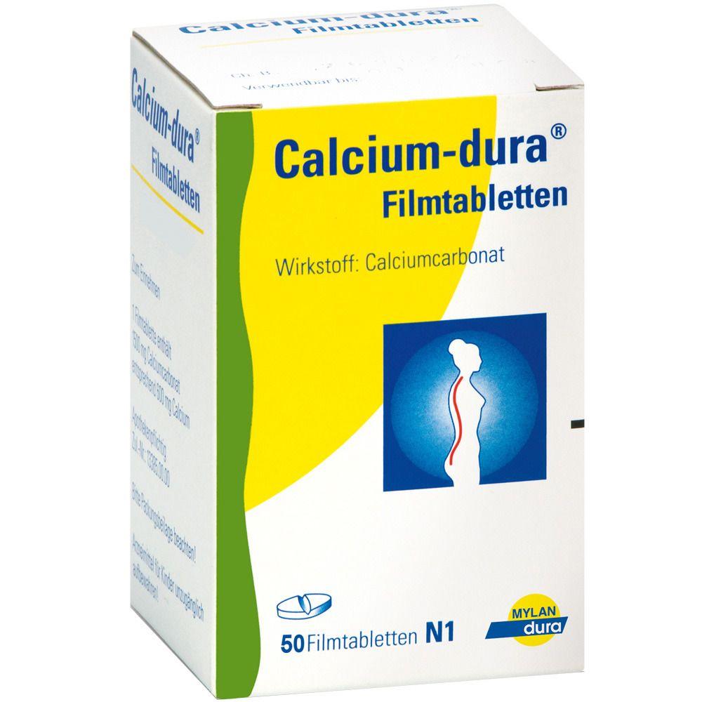 Calcium-dura® Vit D3 600 mg / 400 I.E. Filmtabletten