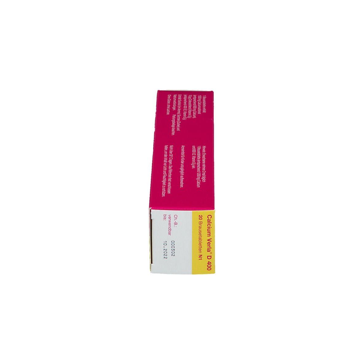 Calcium Verla® D 400 Brausetabletten