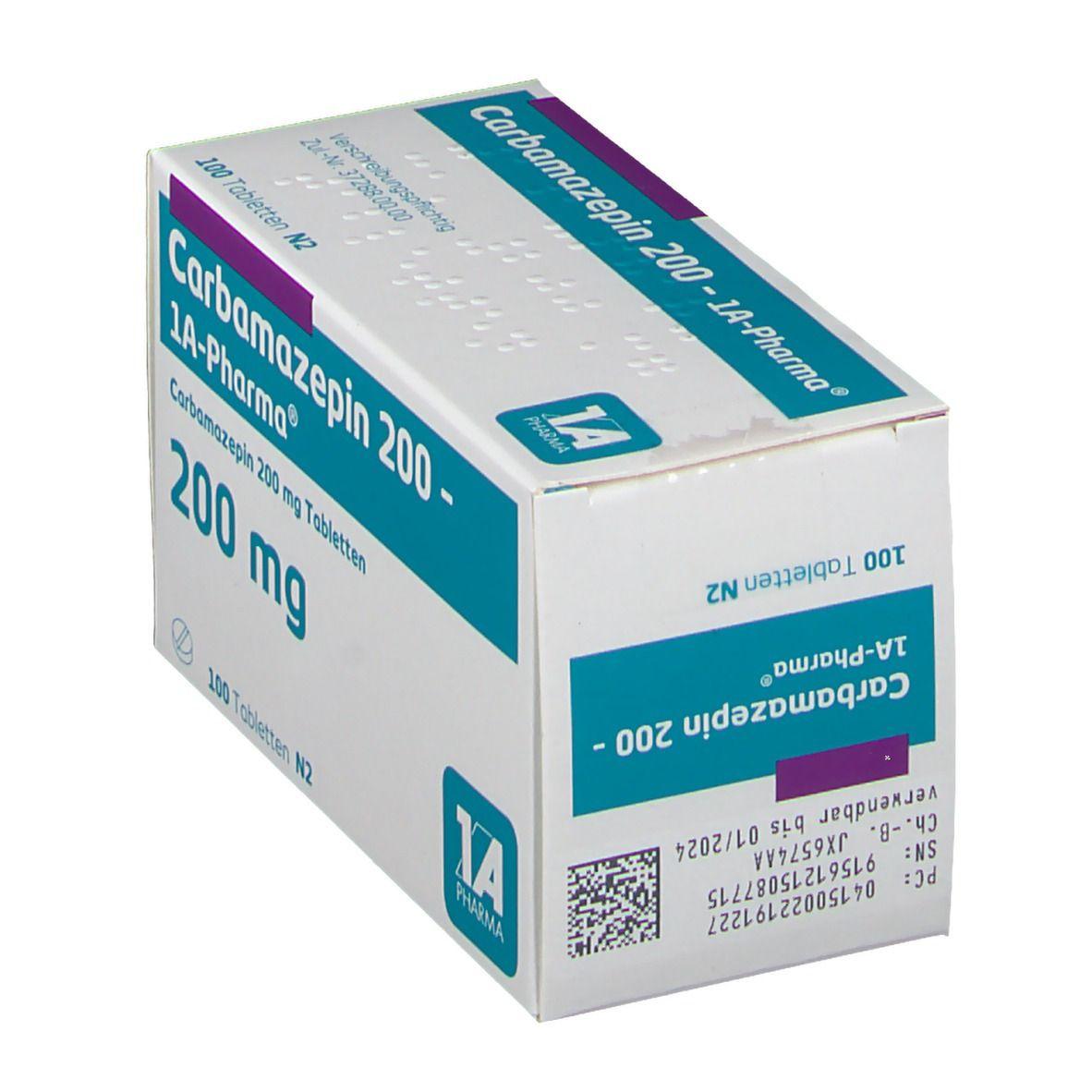 Carbamazepin 200 1a Pharma Tabl.