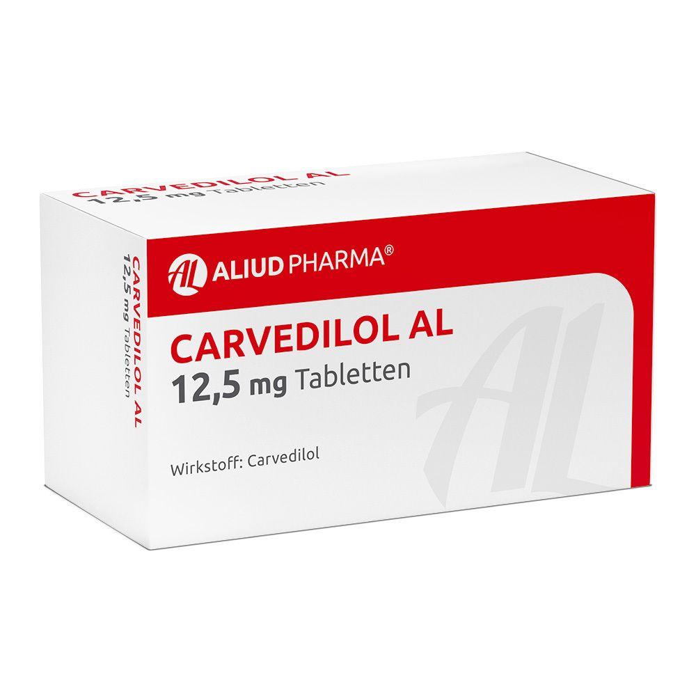 Carvedilol AL 12,5 mg