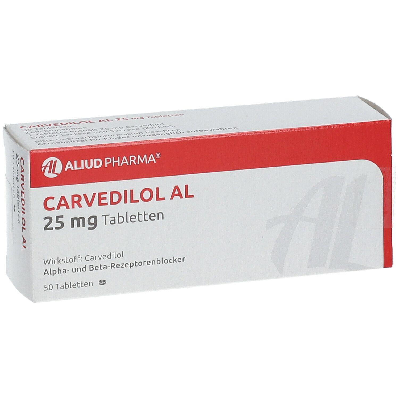 Carvedilol AL 25 mg