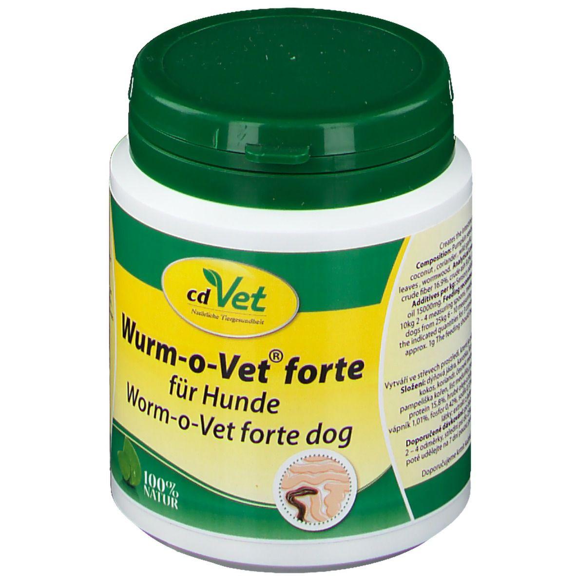 cd Vet Wurm-o-Vet® forte für Hunde