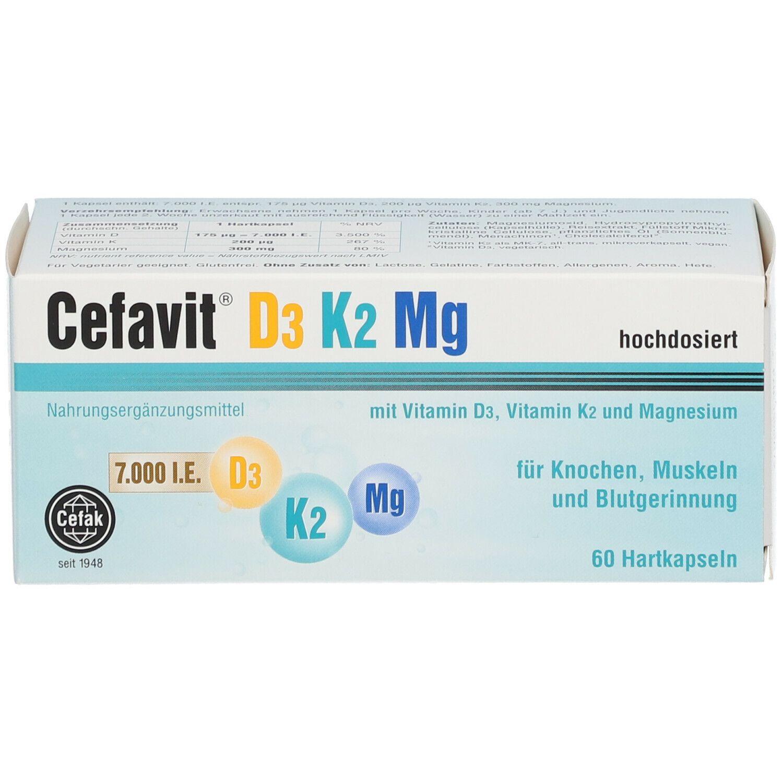 Cefavit® D3 K2 Mg 7.000
