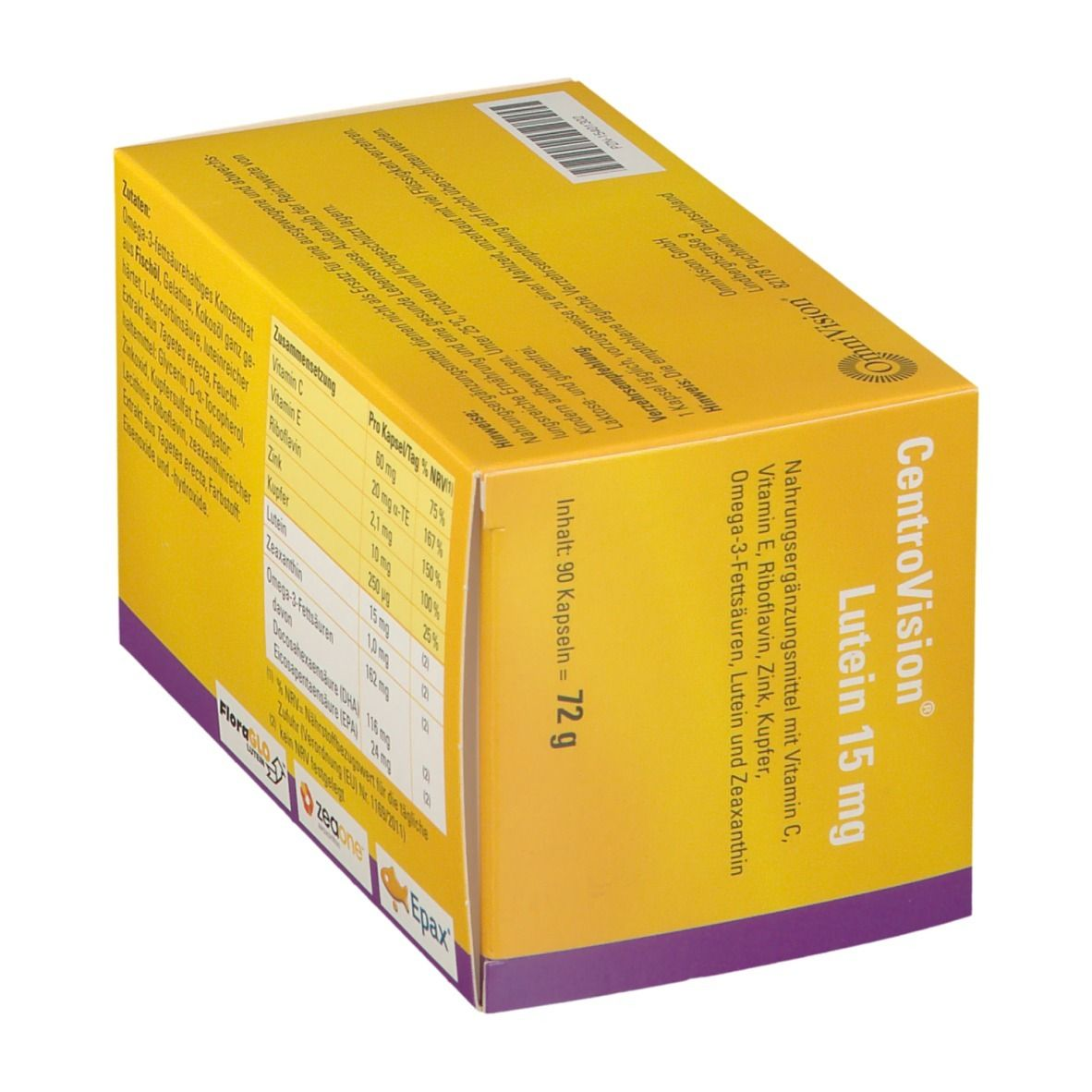 CentroVision® Lutein 15 mg