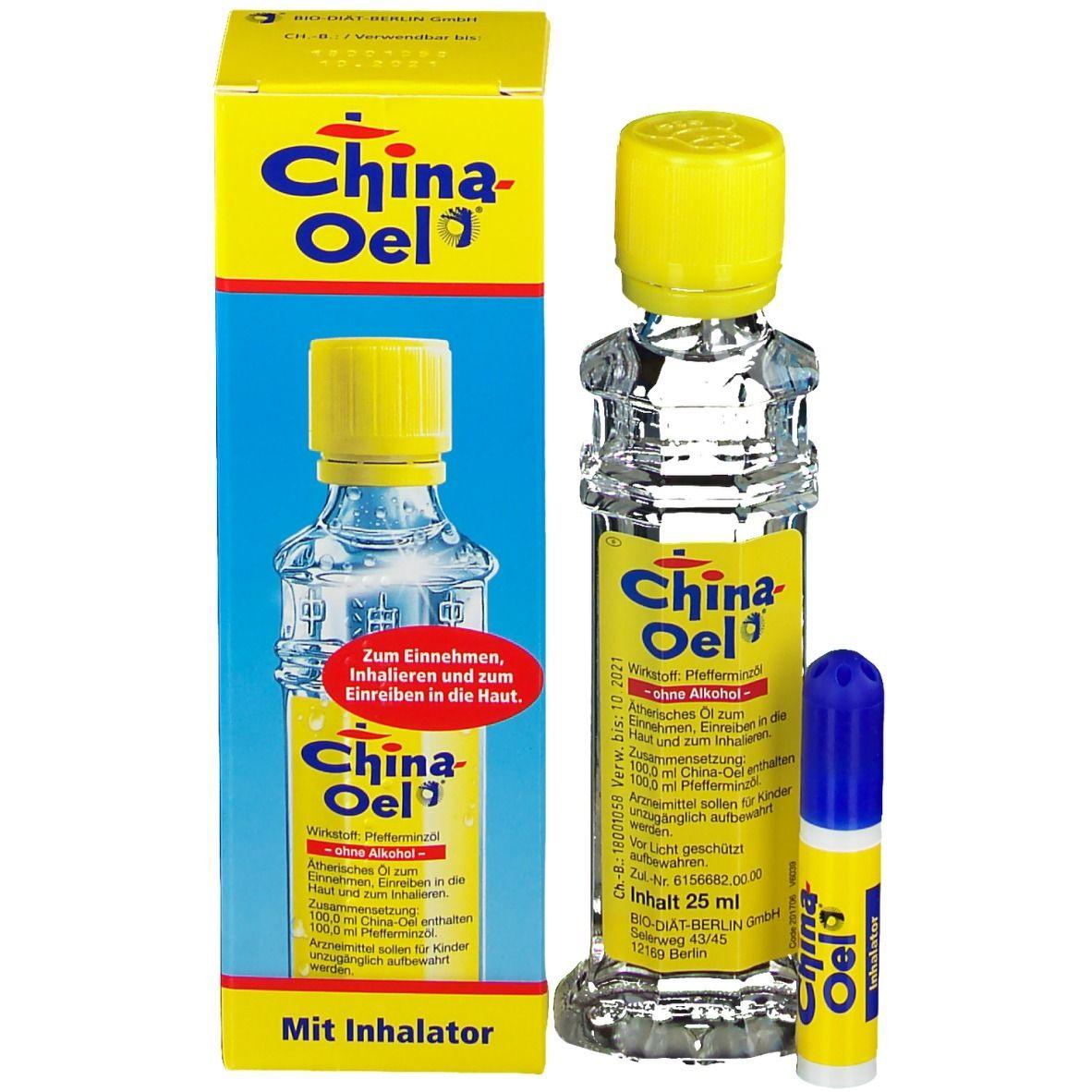 China-Oel® mit Inhalator