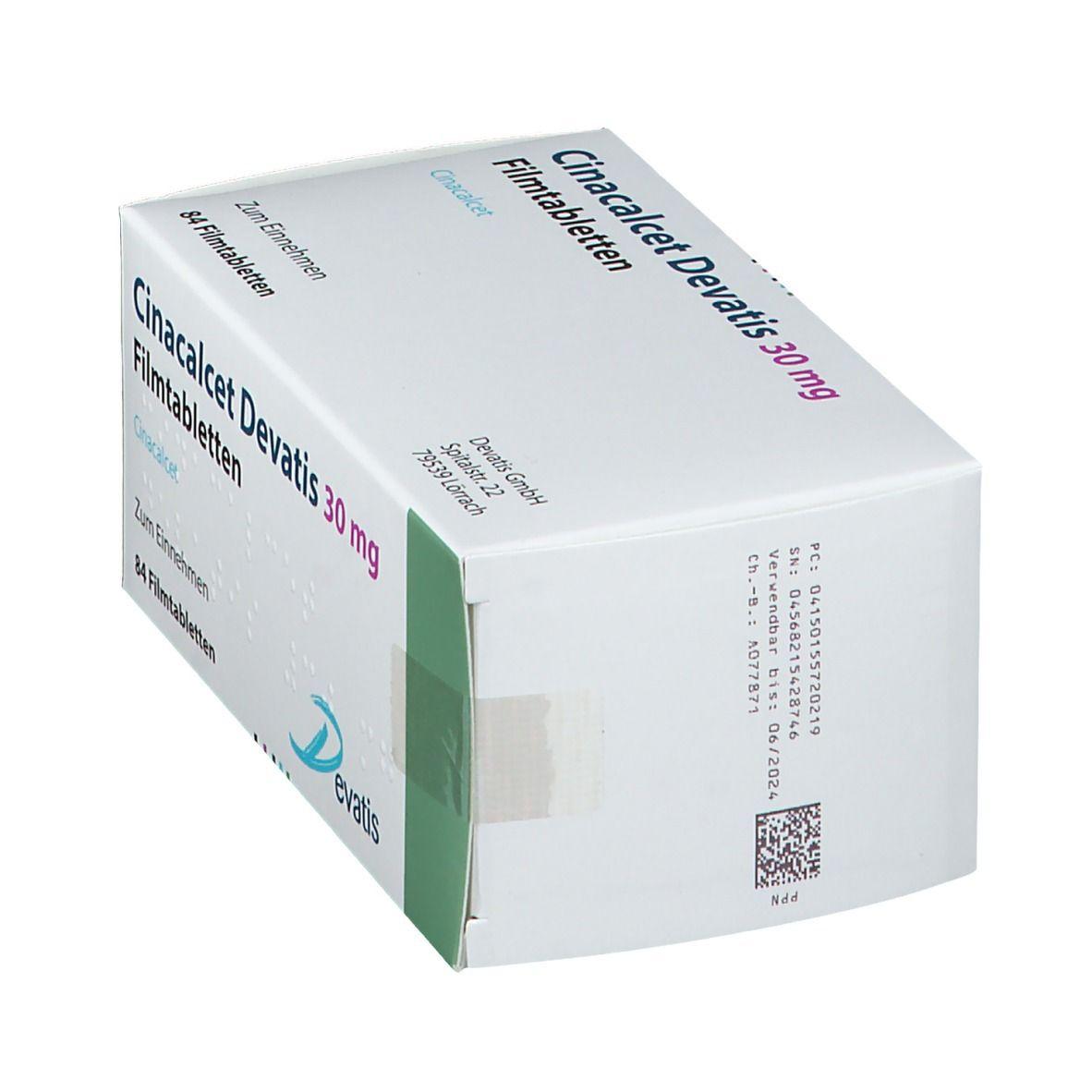 CINACALCET Devatis 30 mg Filmtabletten