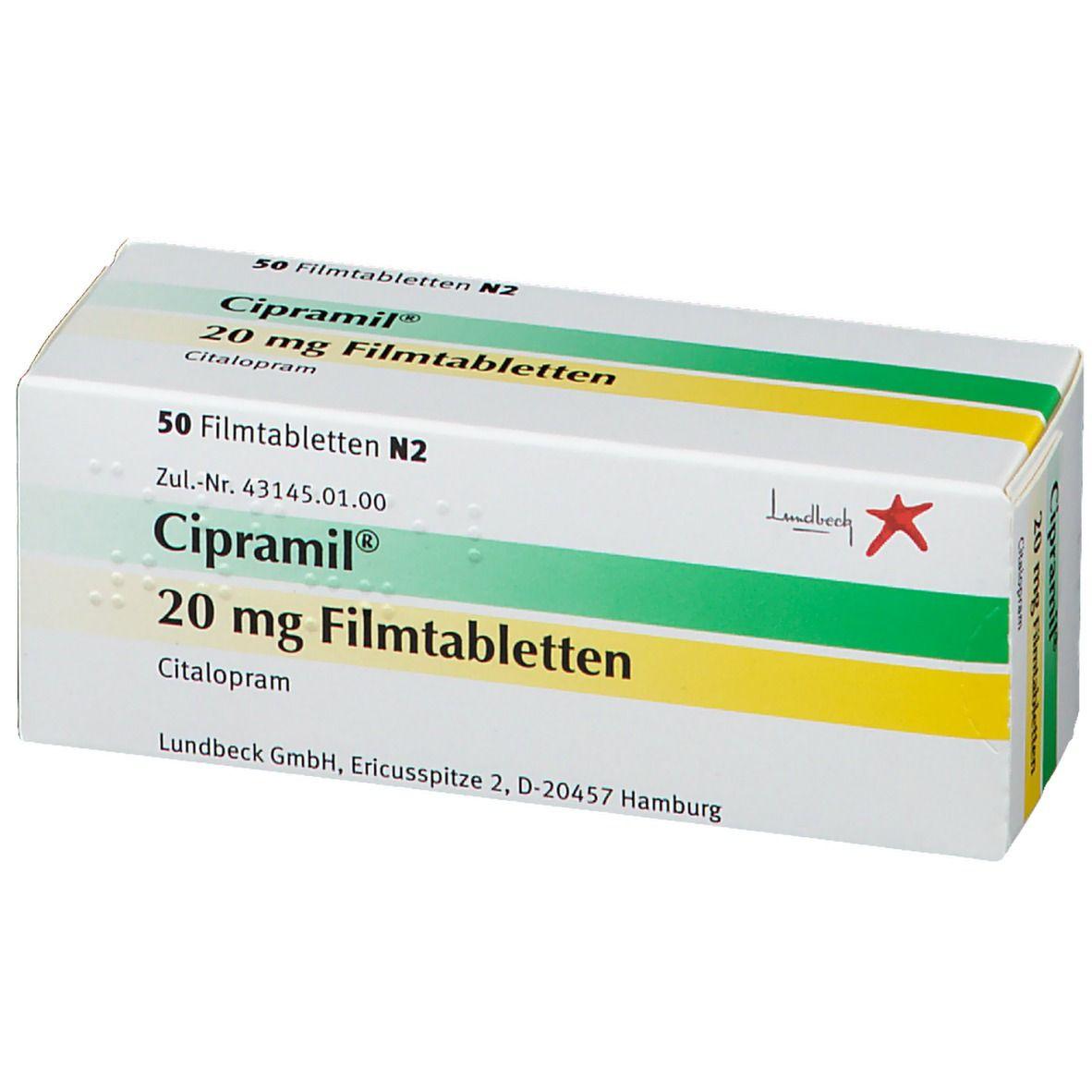 Cipramil 20 mg Filmtabletten