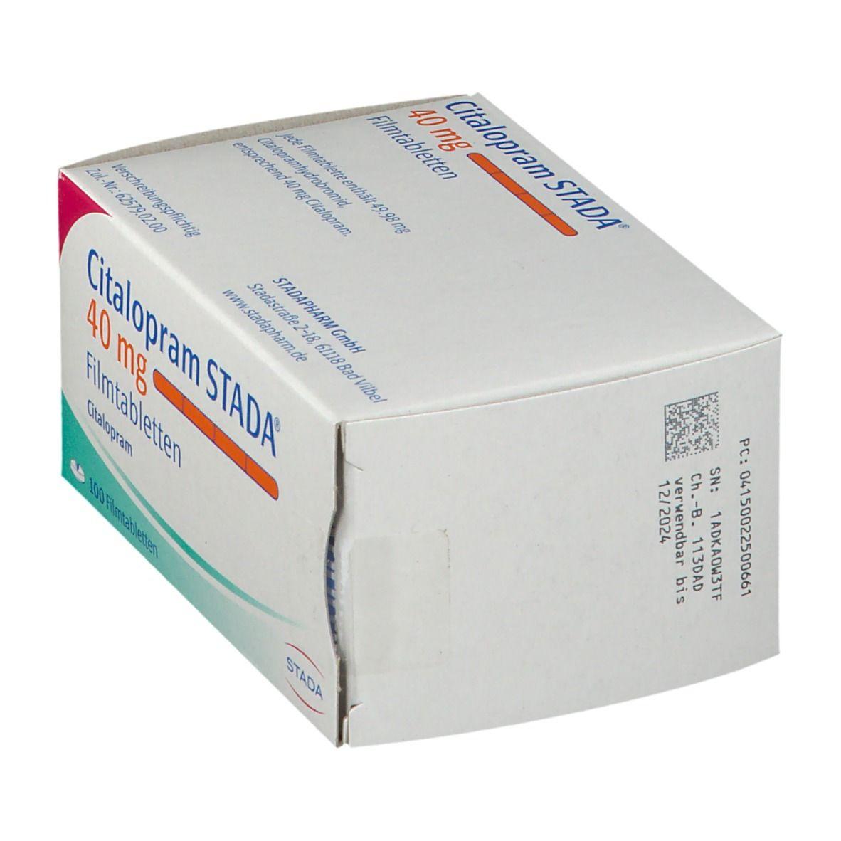Citalopram Stada® 40 mg Filmtabletten