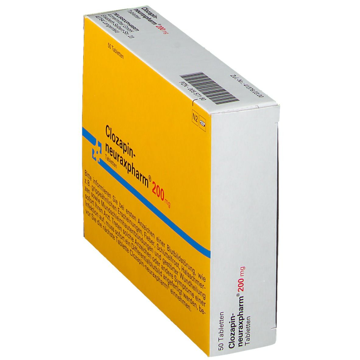 Clozapin neuraxpharm 200 Tabl.