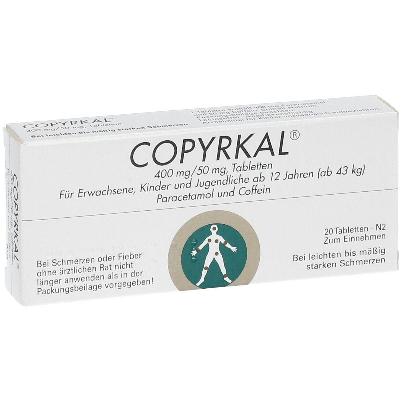 COPYRKAL® 400 mg / 50 mg Tabletten