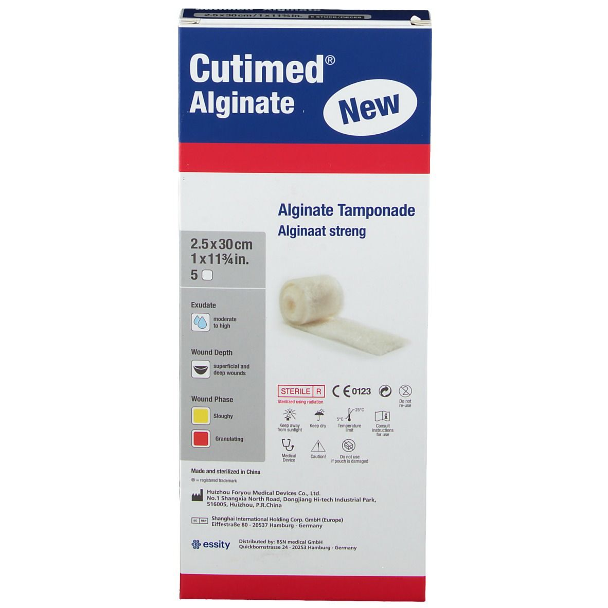 Cutimed® Alginate 2,5 cm x 30 cm