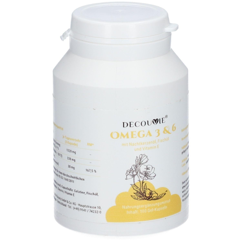 DecouVie® Omega 3 & 6