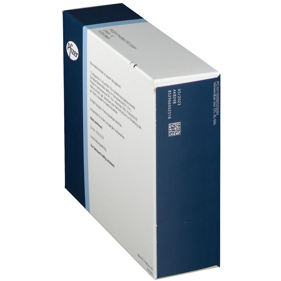 DEPO CLINOVIR 150 mg 1 ml Injektionssuspension