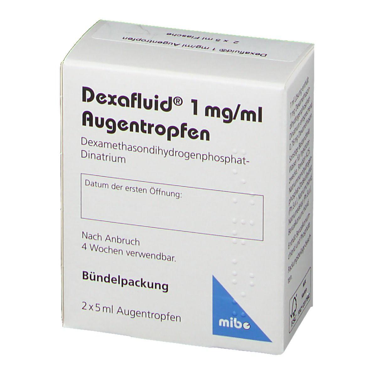 DEXAFLUID 1 mg/ml Augentropfen