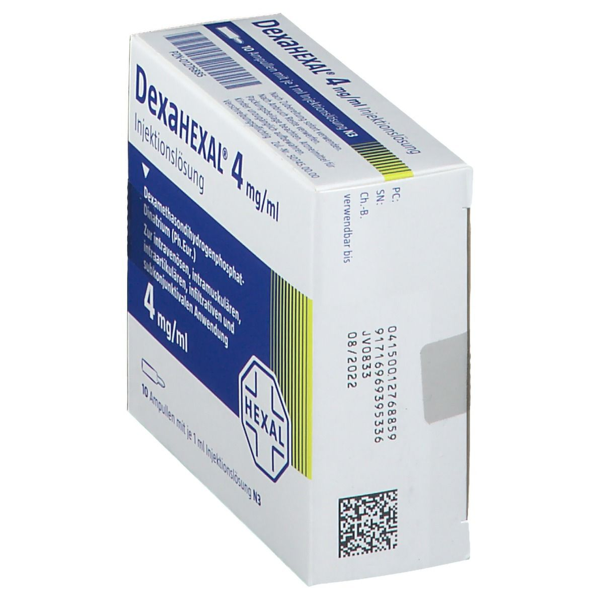 Dexahexal 4 mg/1 ml Ampullen