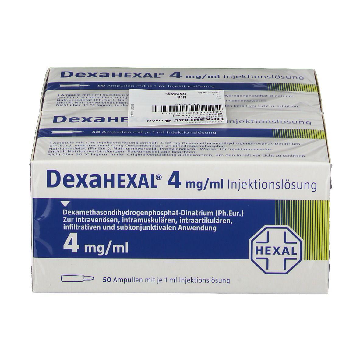 DexaHEXAL® 4 mg/1 ml Ampullen