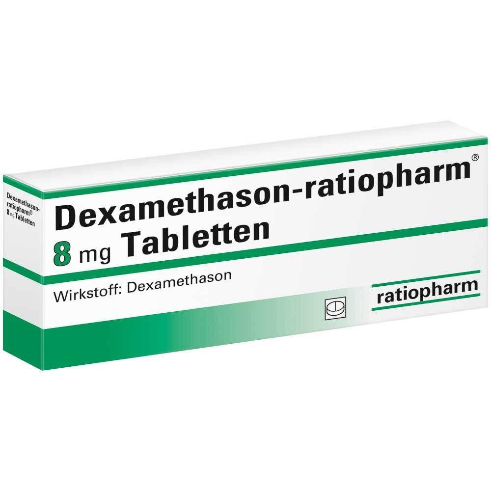 DEXAMETHASON ratiopharm 8 mg Tabletten