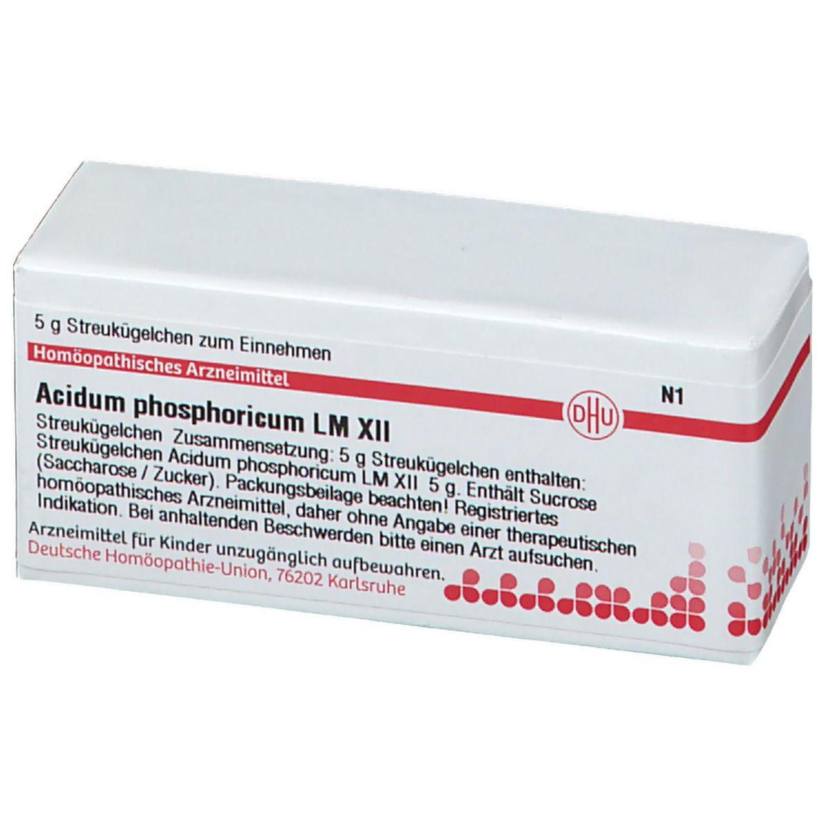 DHU Acidum Phosphoricum LM XII