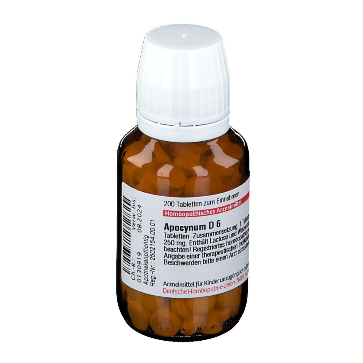DHU Apocynum D6