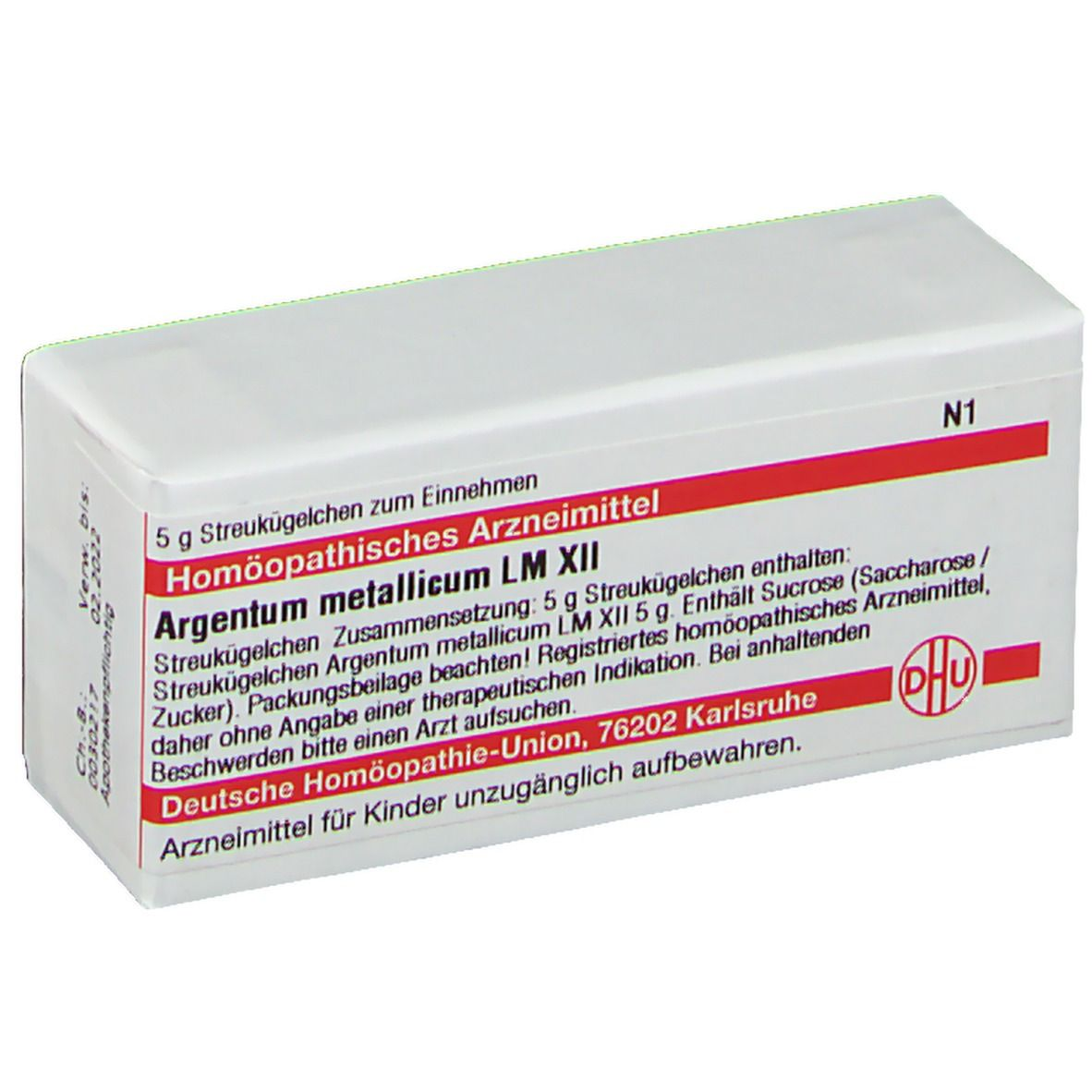 DHU Argentum Metallicum LM XII