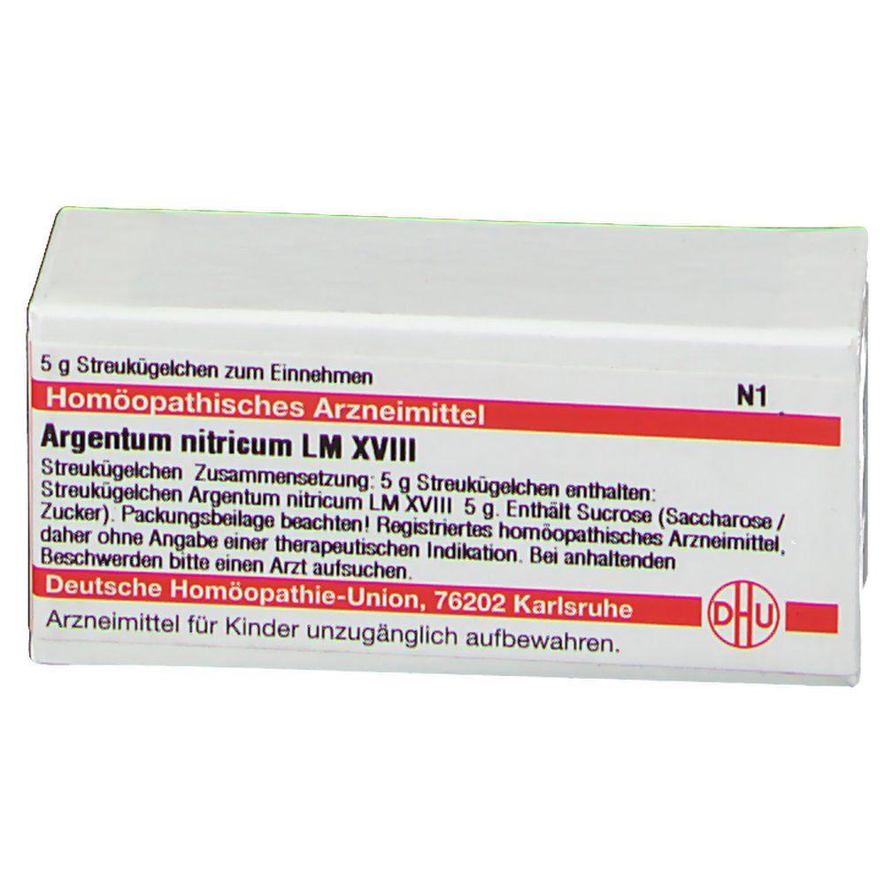 DHU Argentum Nitricum LM XVIII