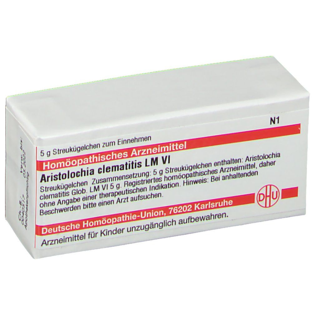 DHU Aristolochia Clematitis LM VI