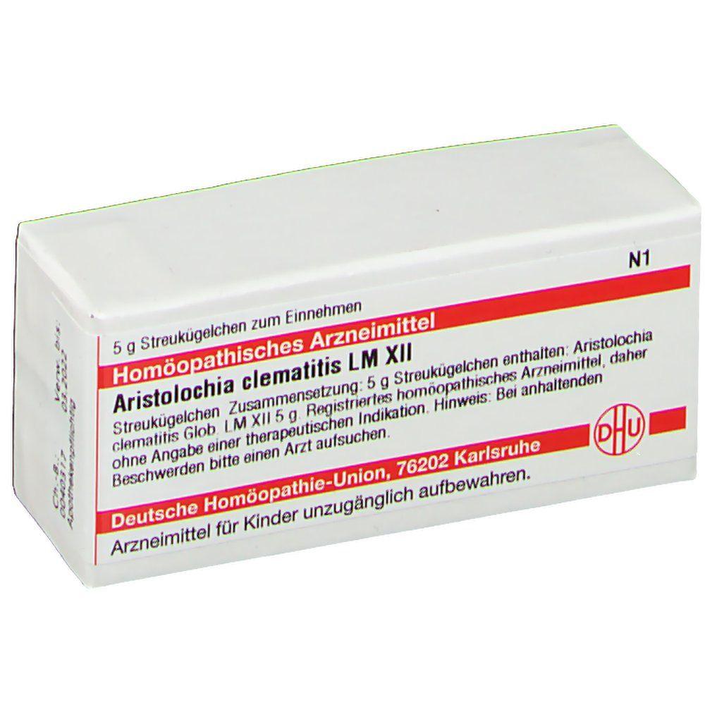 DHU Aristolochia Clematitis LM XII