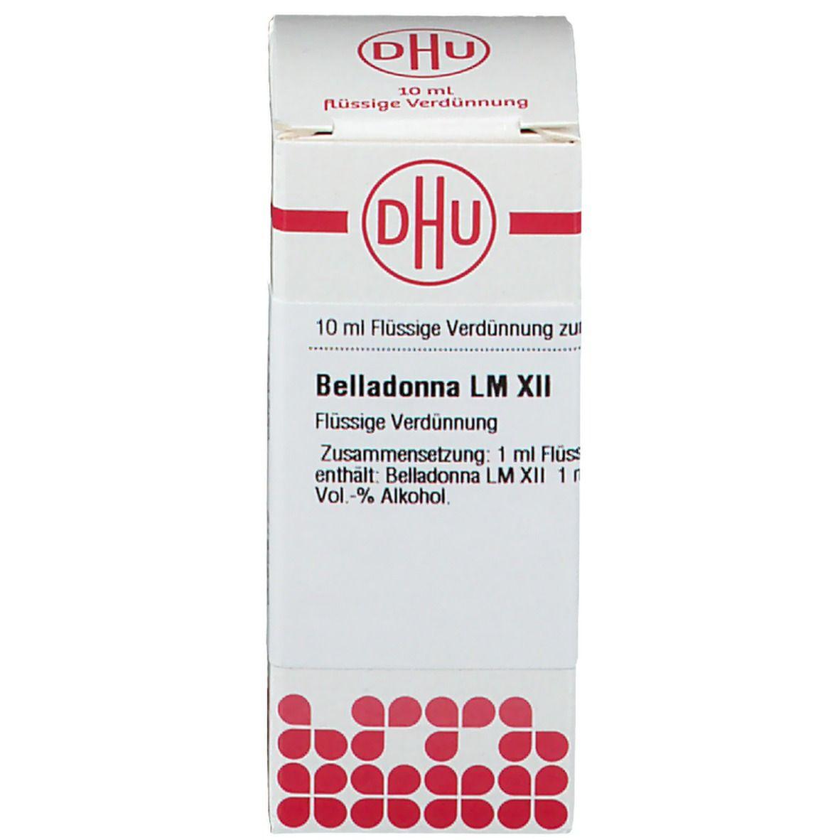 DHU Belladonna LM XII