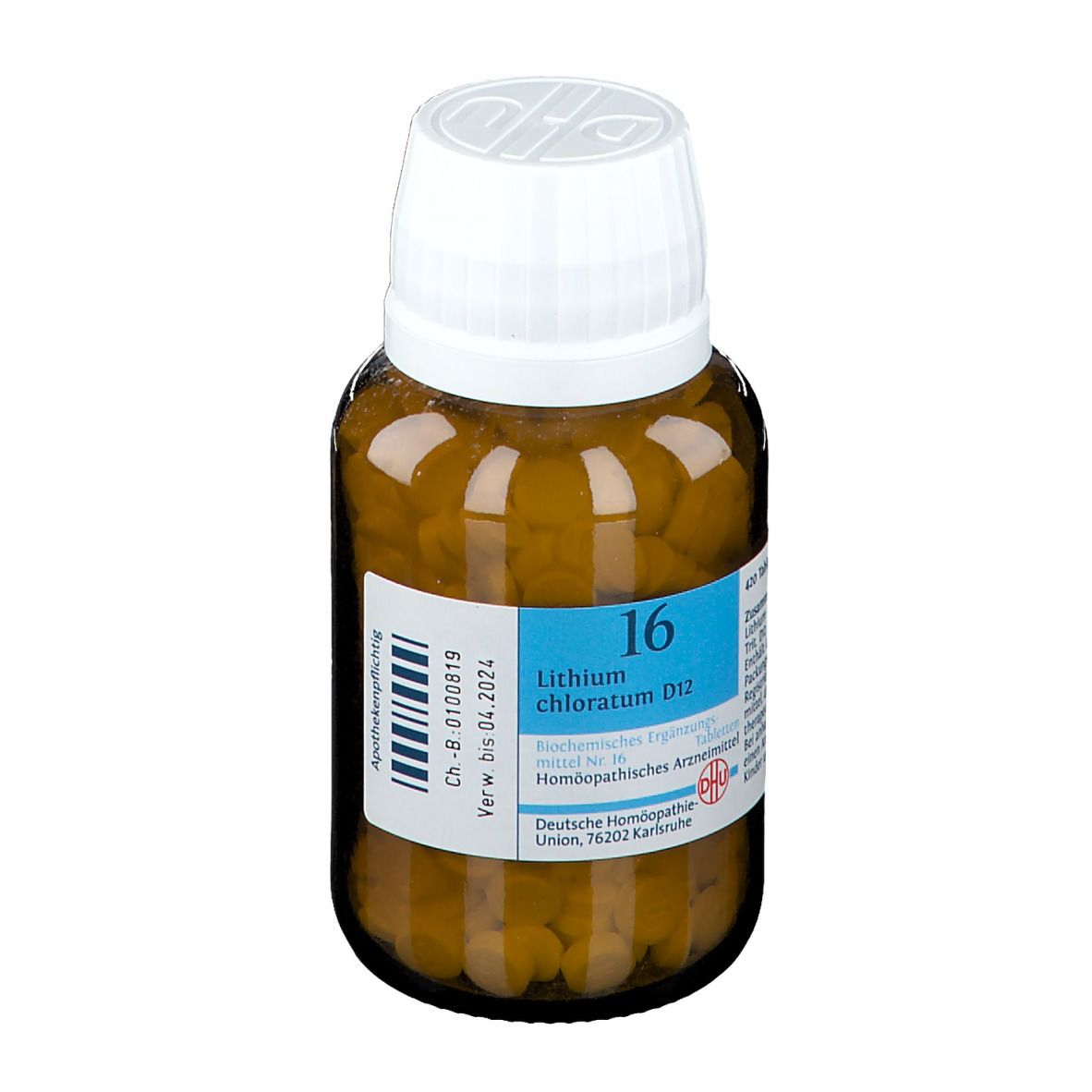 DHU Biochemie 16 Lithium chloratum D12