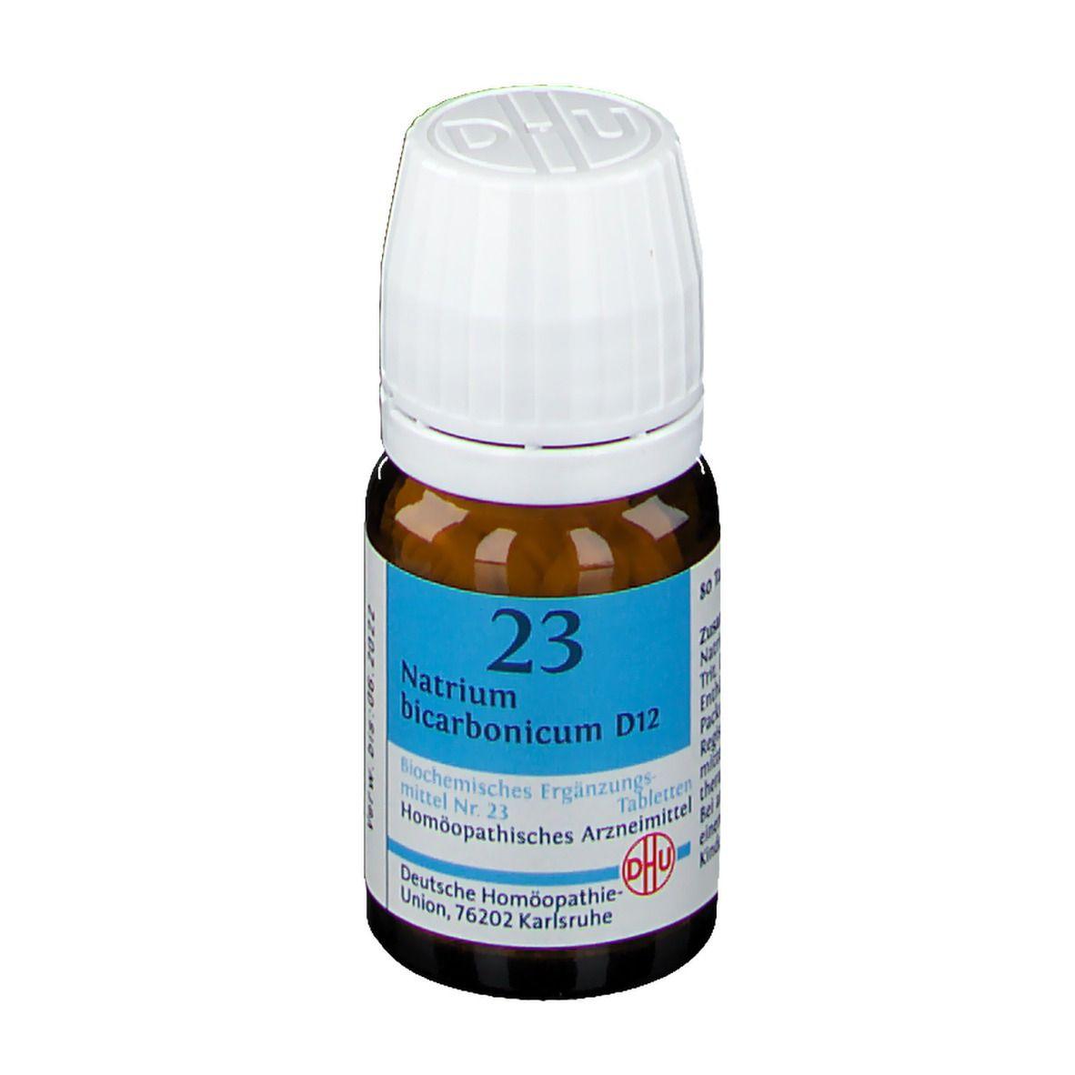 DHU Biochemie 23 Natrium bicarbonicum D12