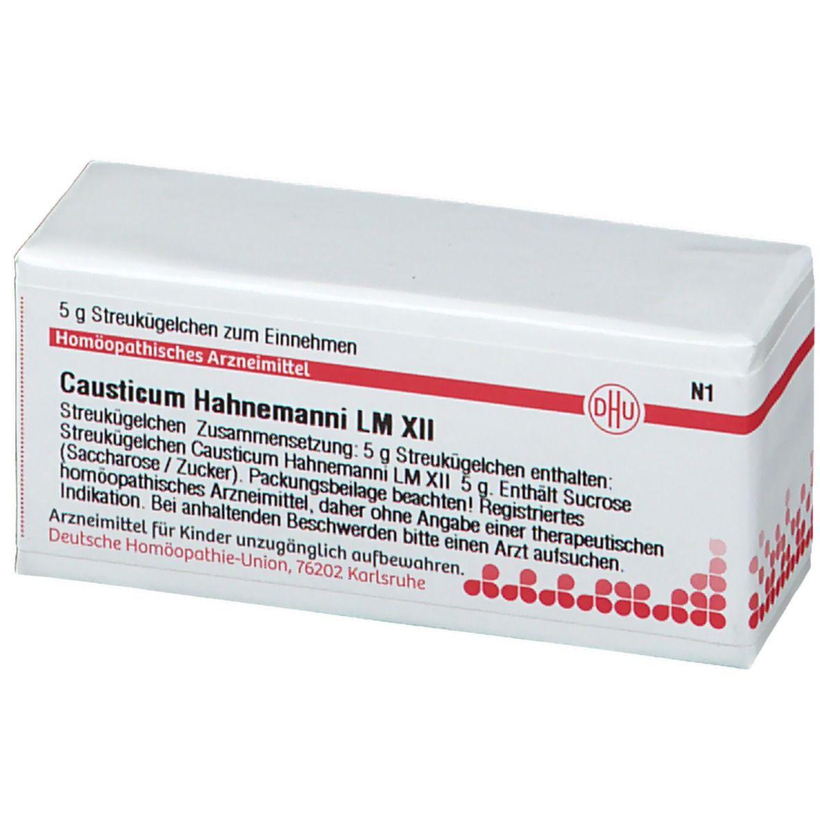 DHU Causticum Hahnemanni LM XII
