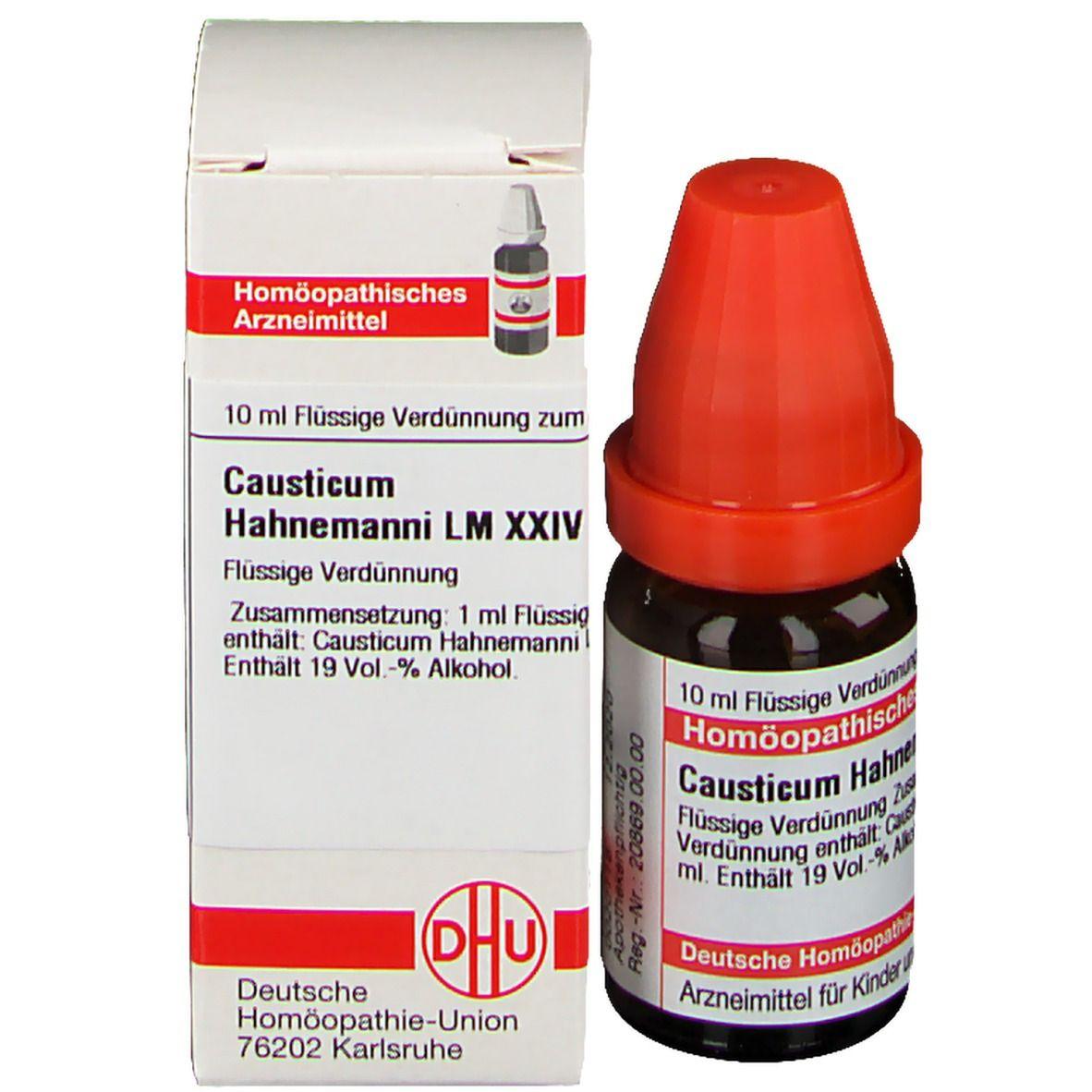 DHU Causticum Hahnemanni LM XXIV
