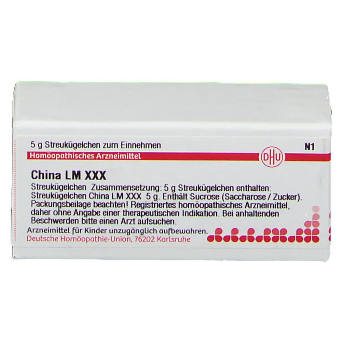 DHU China Lm Xxx