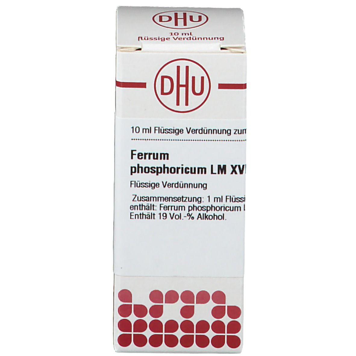 DHU Ferrum Phosphoricum LM XVIII