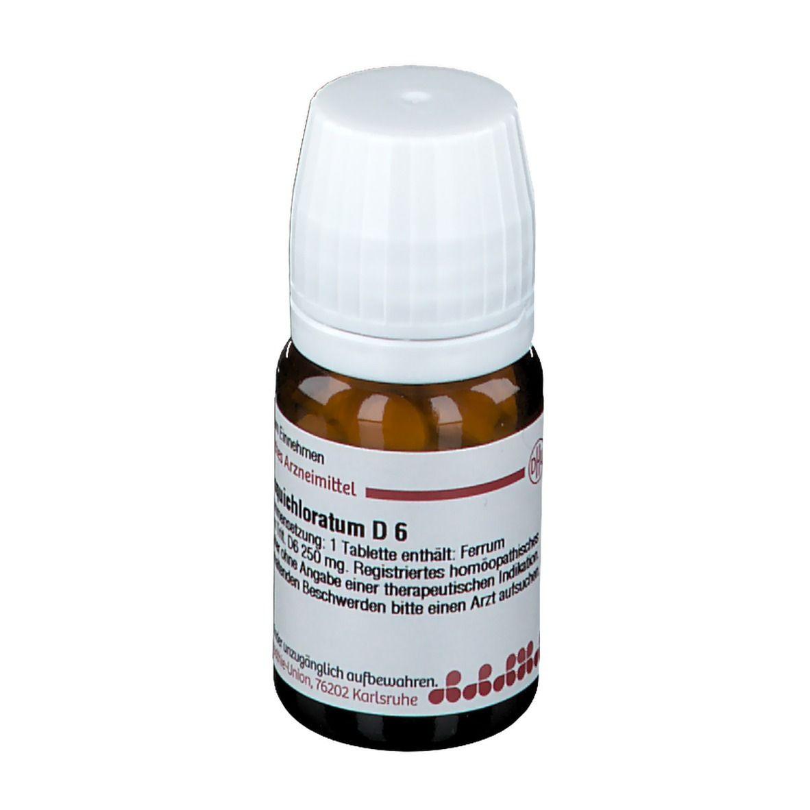 DHU Ferrum Sesquichloratum D6