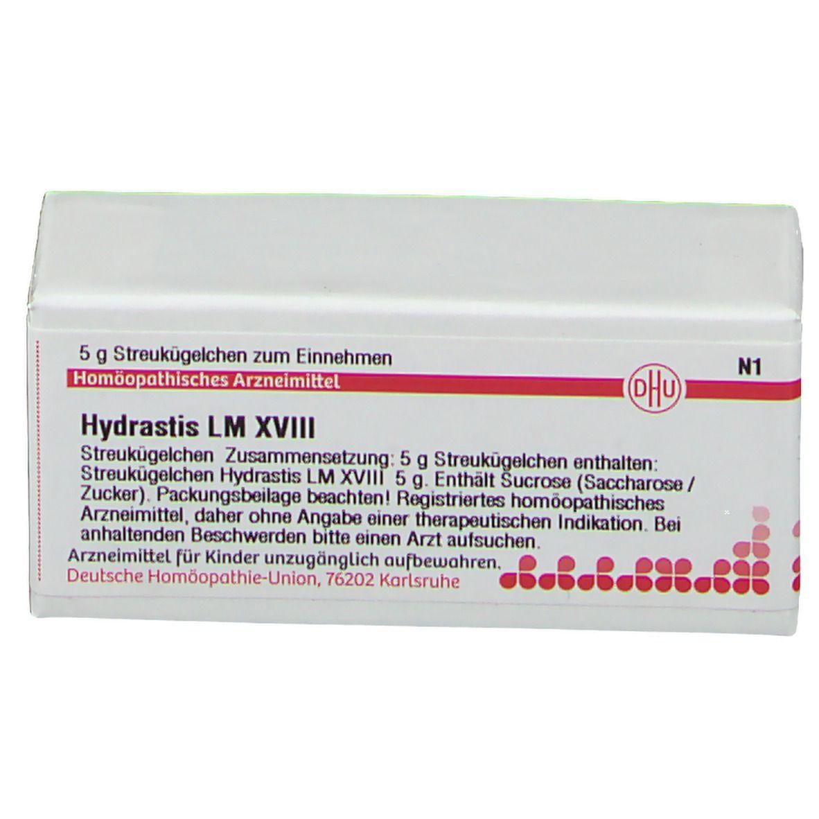 DHU Hydrastis LM XVIII
