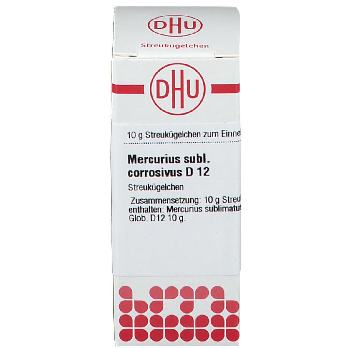 DHU Mercurius Sublimatus Corrosivus D12