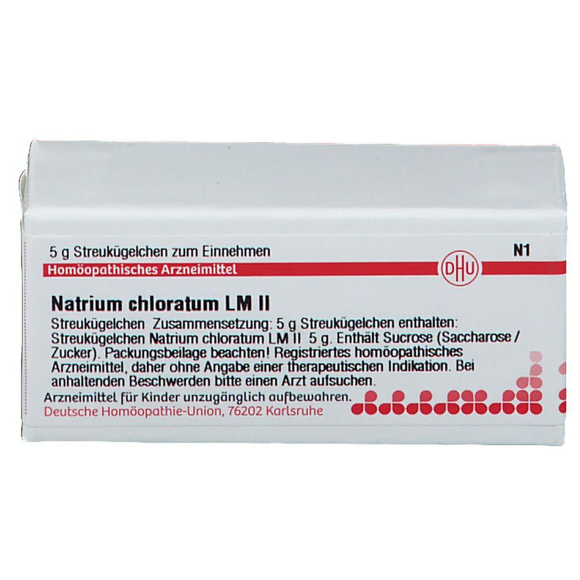 DHU Natrium Chloratum LM II
