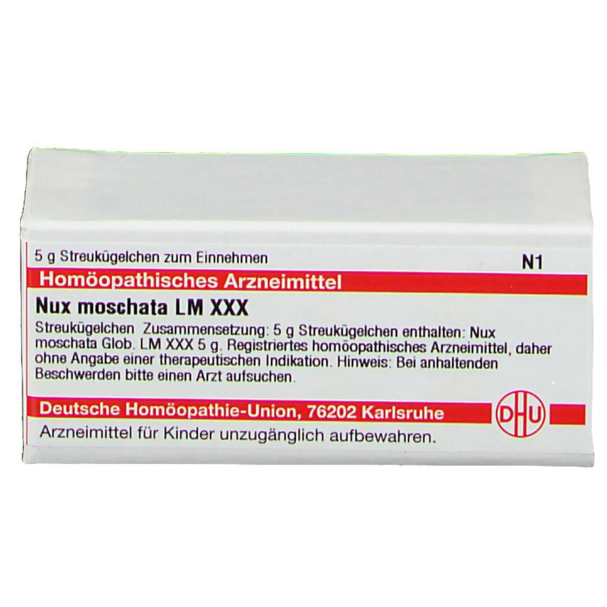 DHU Nux Moschata LM XXX