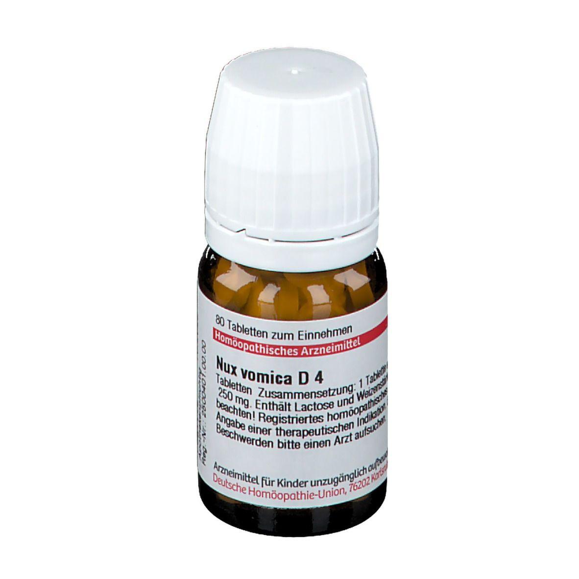 DHU Nux Vomica D4