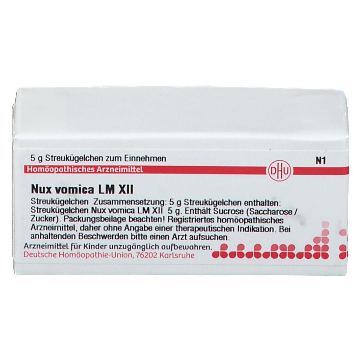 DHU Nux Vomica LM XII