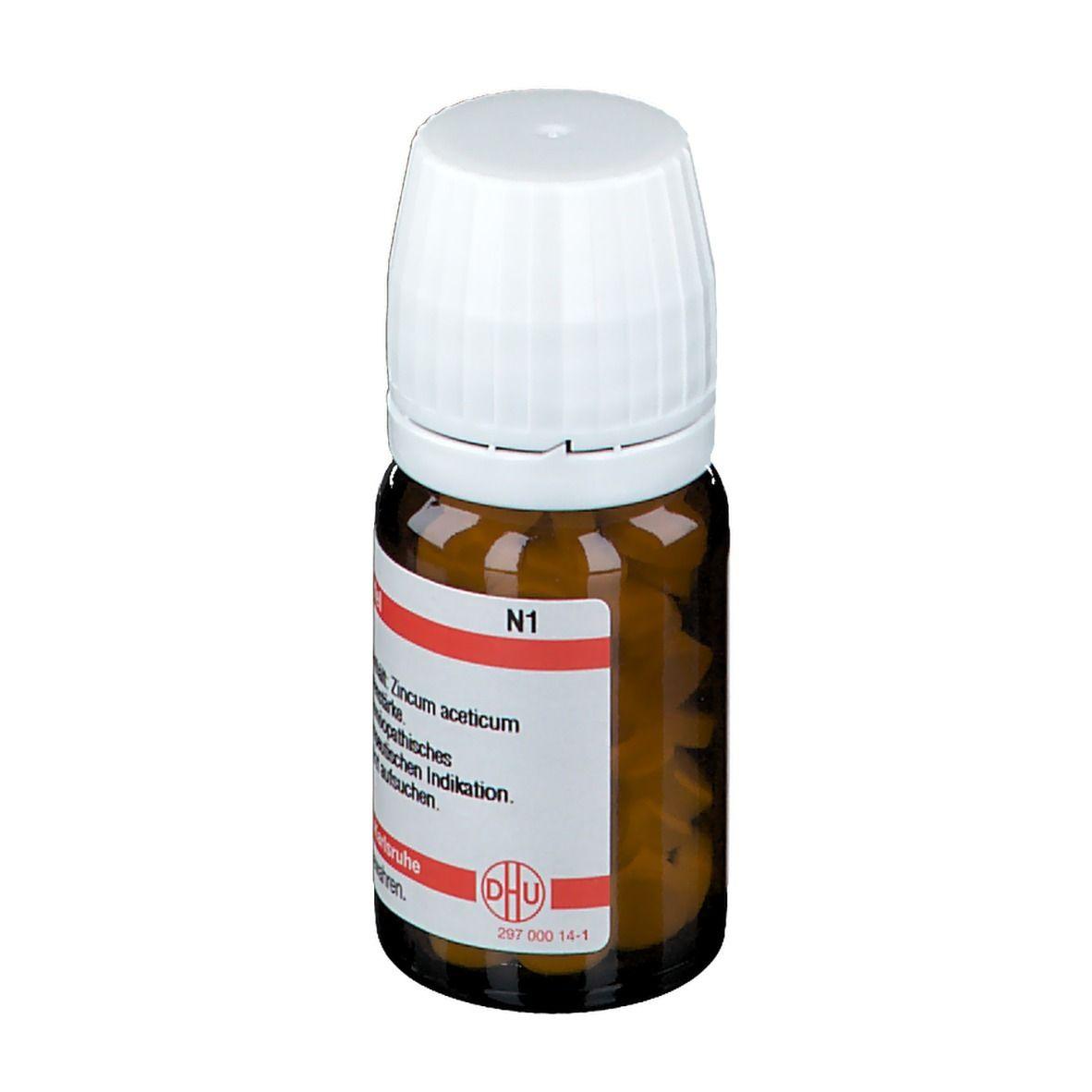 DHU Zincum Aceticum D4