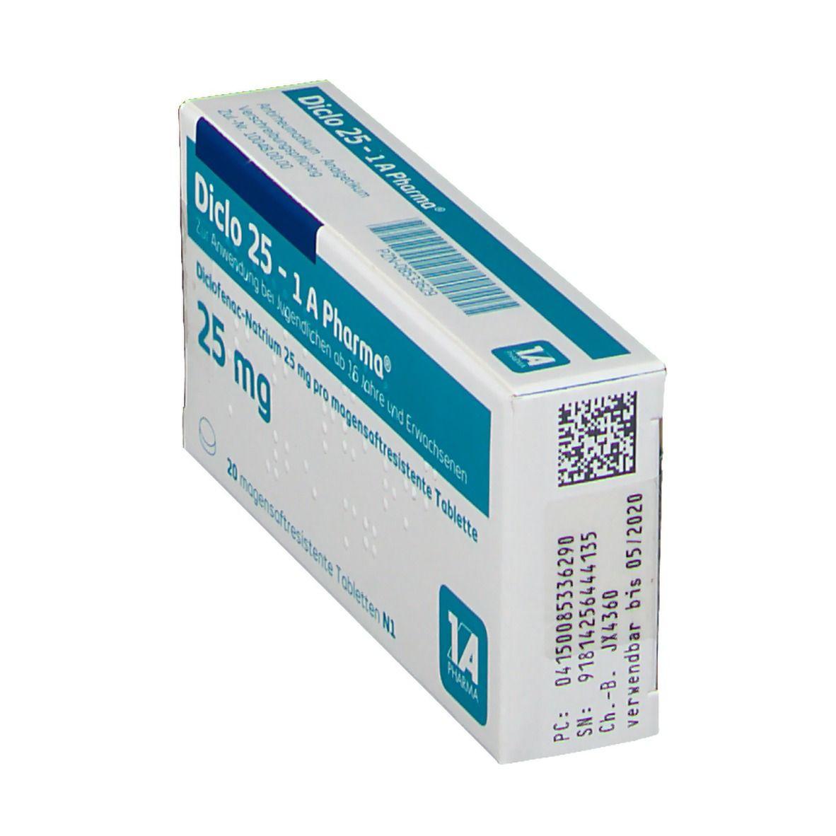 Diclo 25 1a Pharma Tabletten