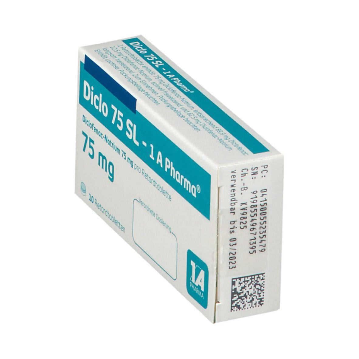 DICLO 75 SL 1A Pharma