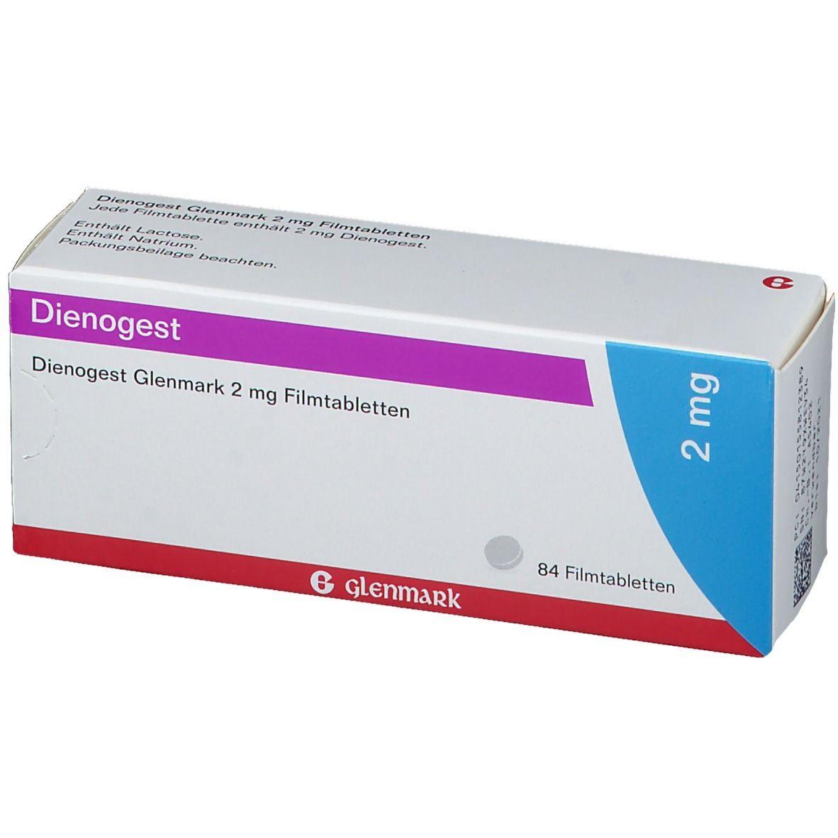 DIENOGEST Glenmark 2 mg Filmtabletten