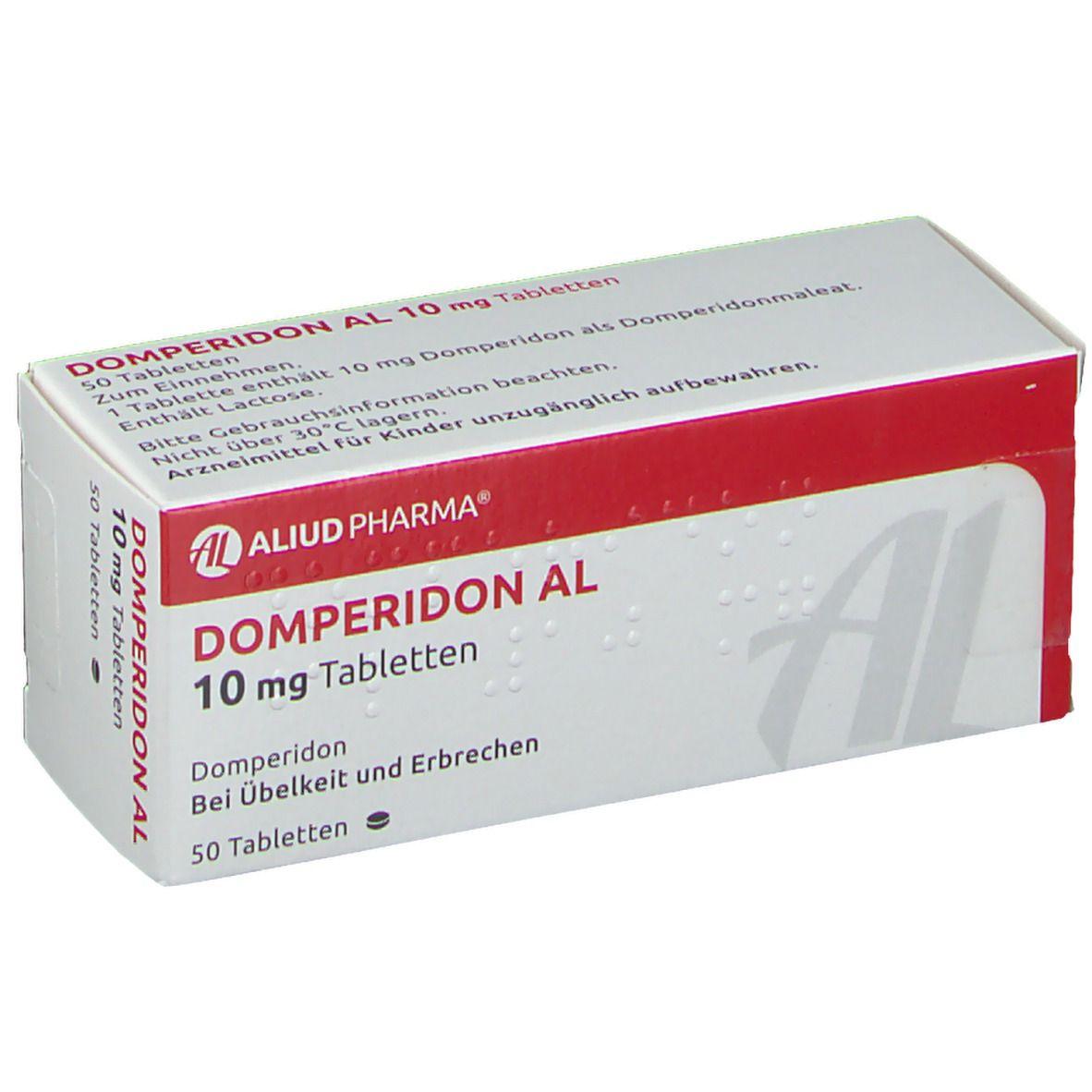 Domperidon Al 10 mg Tabletten