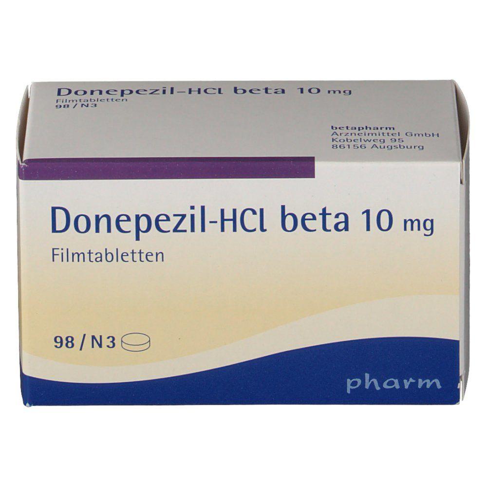 Donepezil-HCl beta 10 mg Filmtabletten